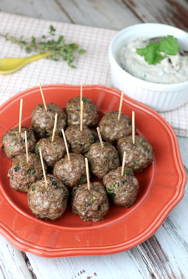 Low Carb Moroccan Meatballs | Shared via www.ruled.me
