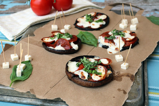 Click to see how to make the Portobello Personal Pizza