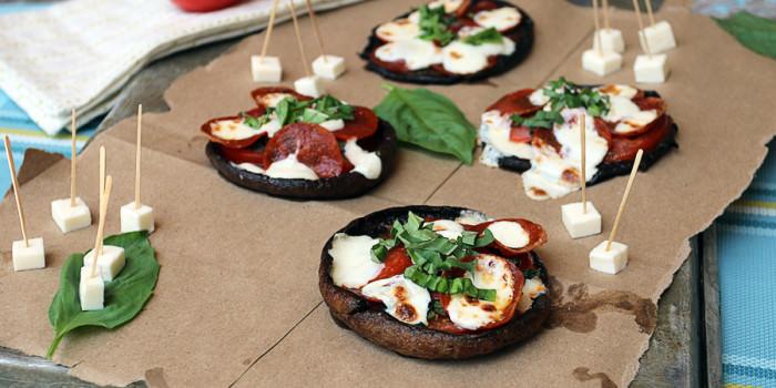 Portobello Personal Pizzas