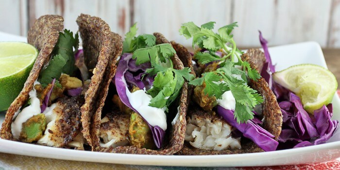 Blackened Tilapia Fish Tacos