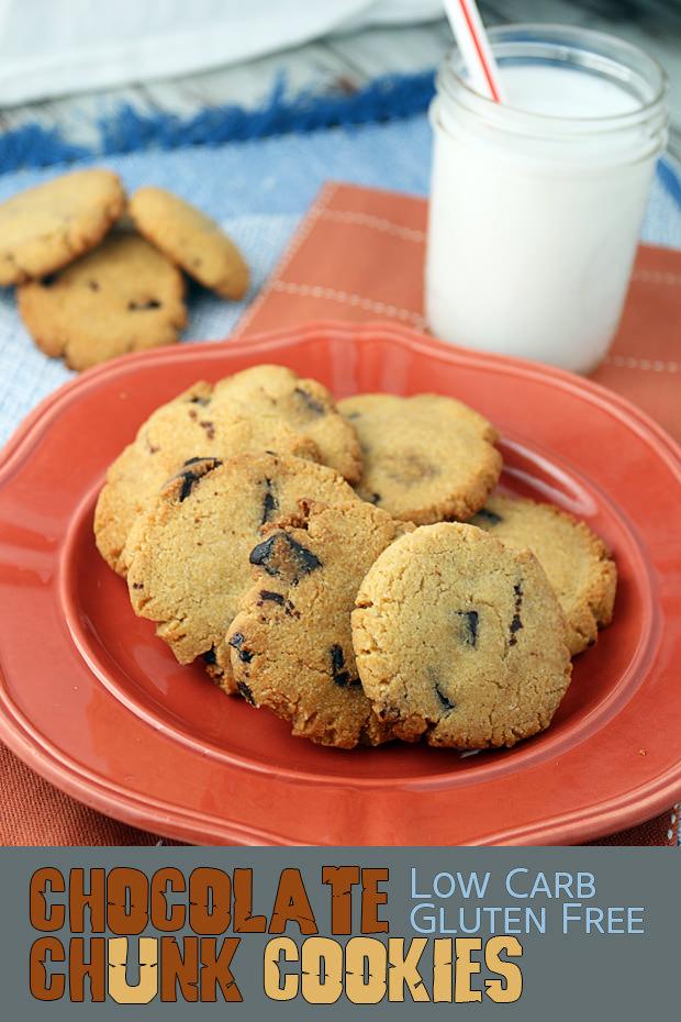 Keto Chocolate Chunk Cookies   Shared via www.ruled.me