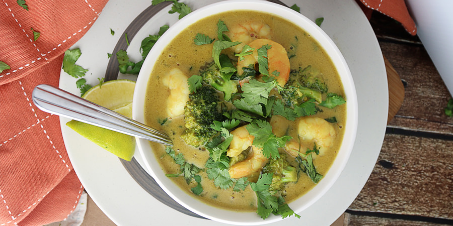 GreenCoconutShrimpCurrySecond