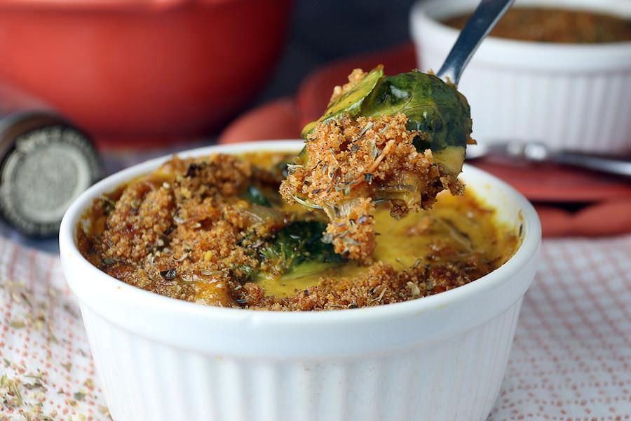 Keto Cake Recipe Australia: Keto Au Gratin Brussels Sprouts