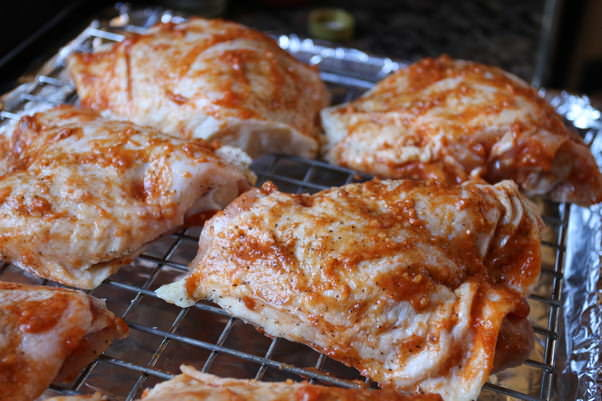 chicken thighs oven oven quot grilled quot asian chicken thighs ruled me 13024