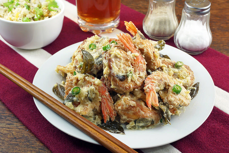 Creamy Butter Shrimp