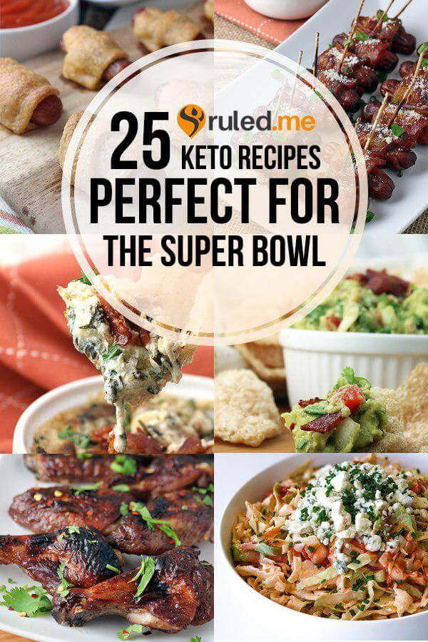 25 Keto Recipes Perfect for the Superbowl!