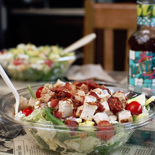Potbelly low-carb salads are a fantastic choice