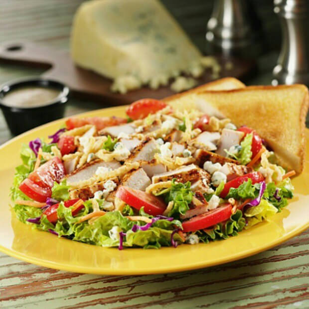 Zaxbys offers many ketogenic salads so check ahead of time