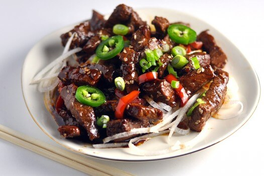 Click to see the recipe for Crispy Sesame Beef