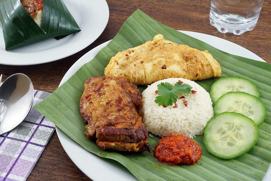Kết quả hình ảnh cho Nasi lemak indonesia