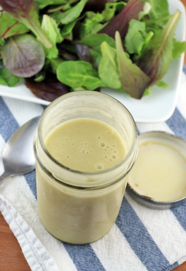 A sweet and tangy vinaigrette to use on your favorite salads this summer! And, it only takes 5 minutes to make. Shared via www.ruled.me/