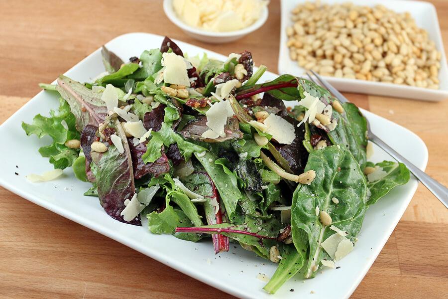 Mixed Green Spring Salad