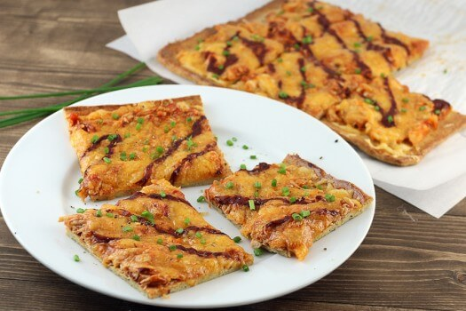 Click to see how to make the bbq chicken pizza