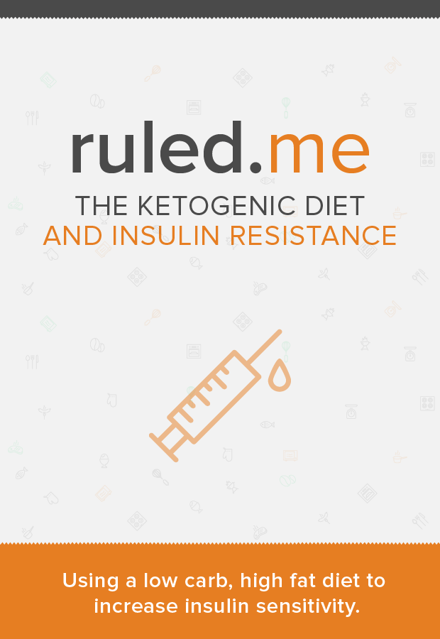 An interesting article on how you can reduce insulin resistance by using a ketogenic diet. Shared by //www.ruled.me/