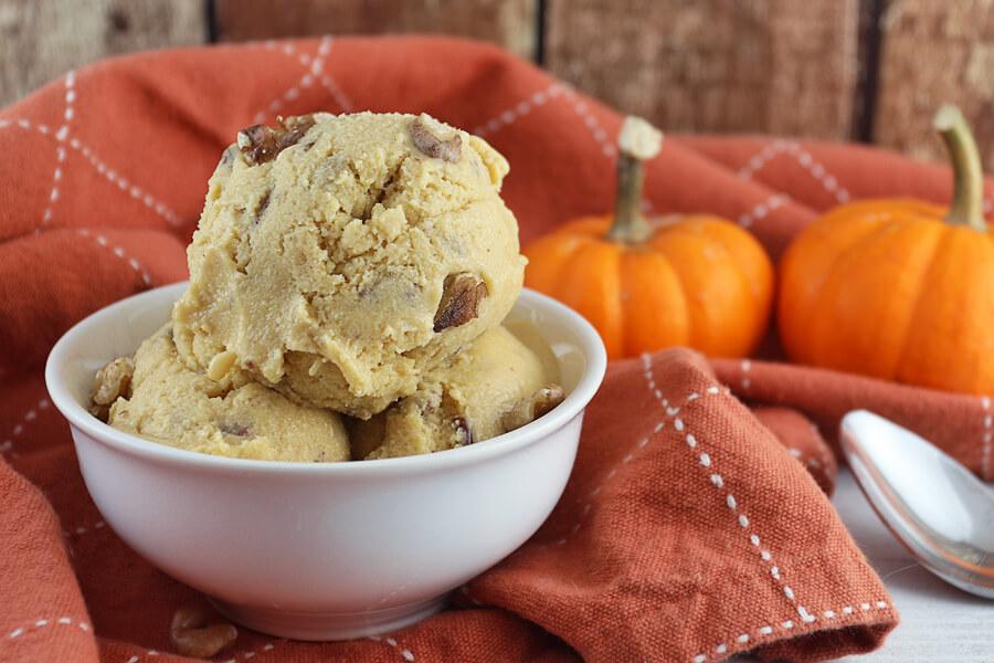 Pumpkin Pecan Pie Ice Cream
