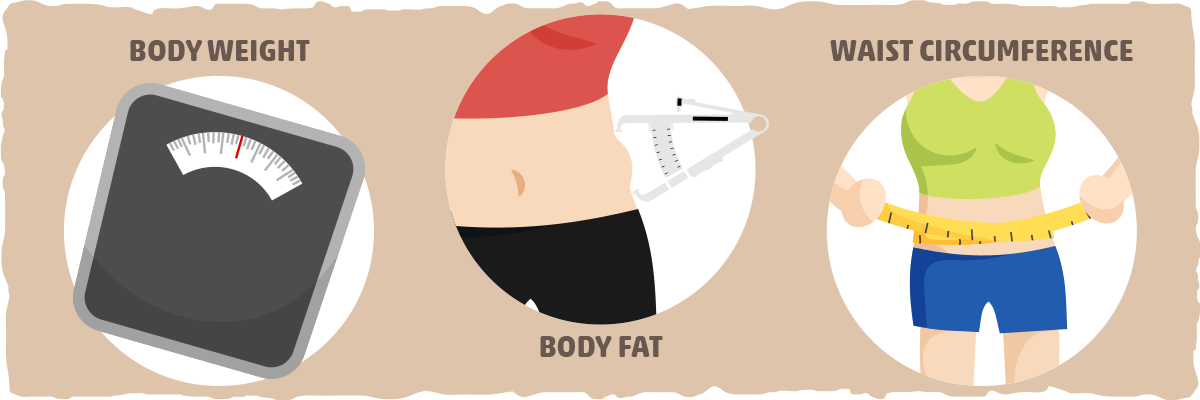 The Key Figures in Body Weight