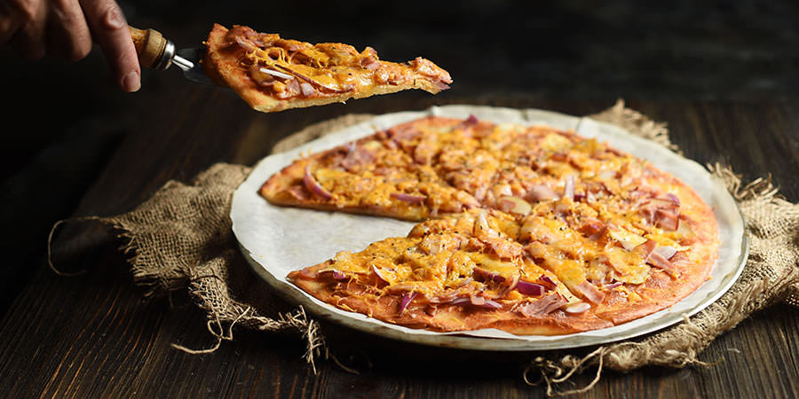 Apple & Ham Flatbread