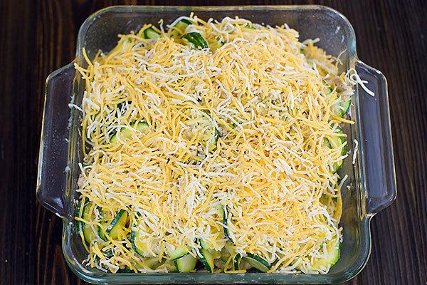 Creamy Crab Zucchini Casserole