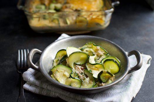 Click to see the recipe for Creamy Crab Zucchini Casserole