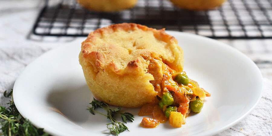 Keto Mini Chicken Pot Pies
