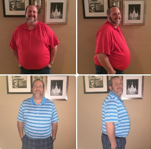 Jared Baldo Lost 58 Lbs