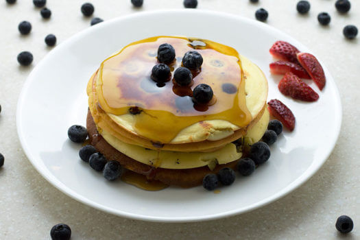 Click here to make Low Carb Blueberry Ricotta Pancakes