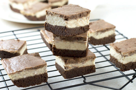 Click to see how to make the Mocha Cheesecake Bars