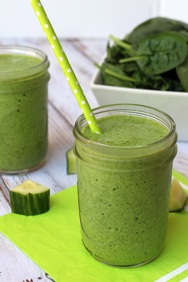 Cucumber Spinach Smoothie