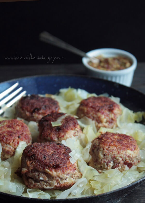Corned Beef and Cabbage Meatballs