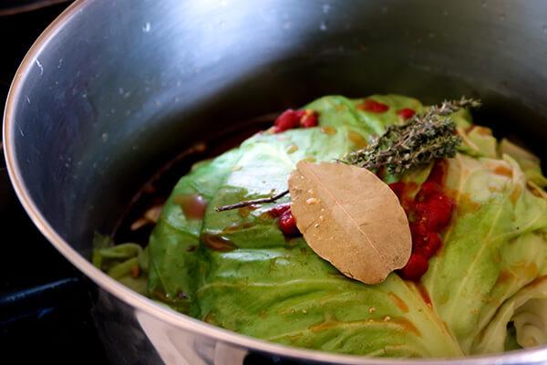 Pork and Cabbage Casserole