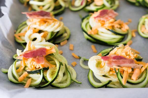 Crispy Zucchini Nests