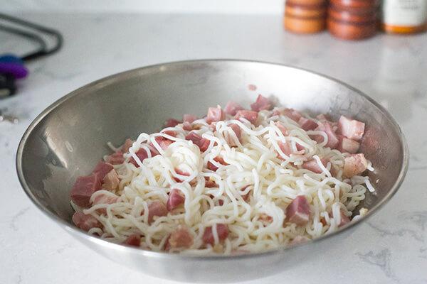 Keto Spaghetti alla Carbonara