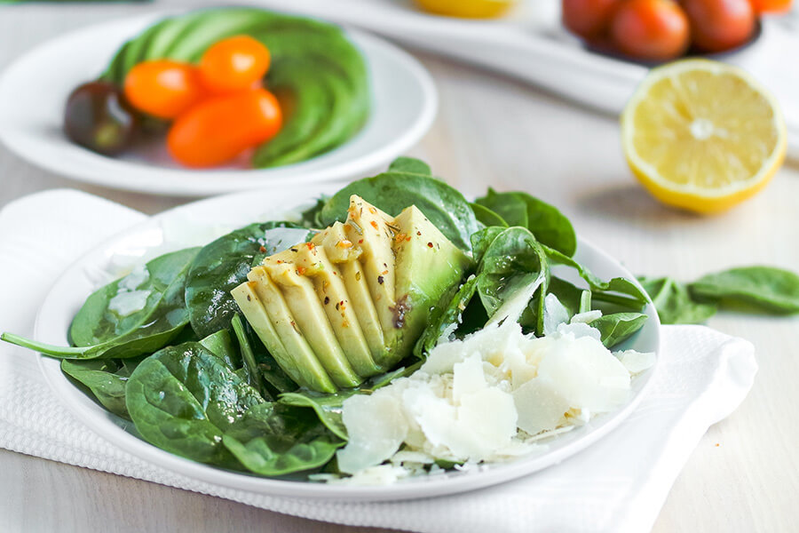 Spinach Watercress Keto Salad