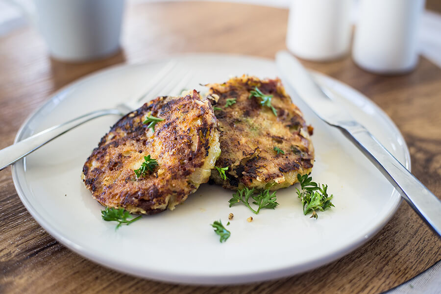 No-tatoes Bubble 'n' Squeak
