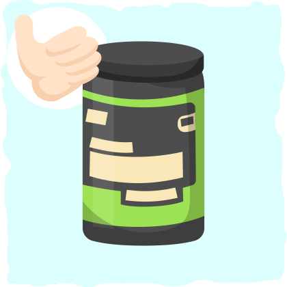 Creatine can help with building muscle mass.