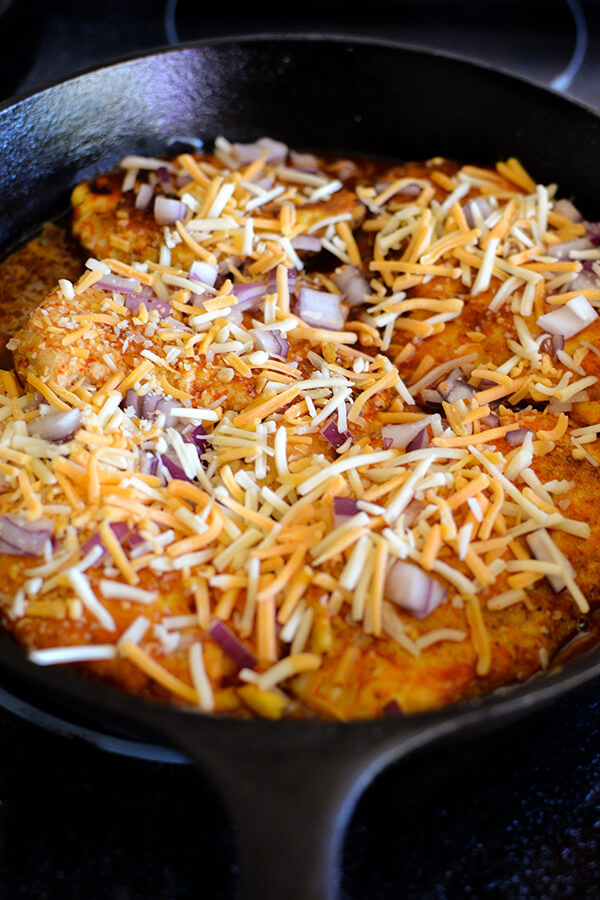 Enchilada Skillet Chicken