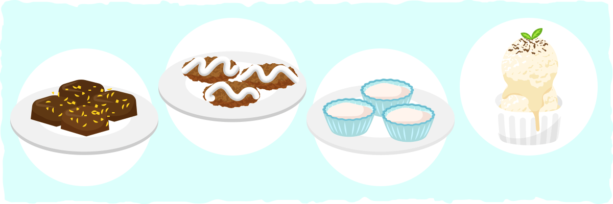 Vegetarian Keto Dessert Recipe Examples