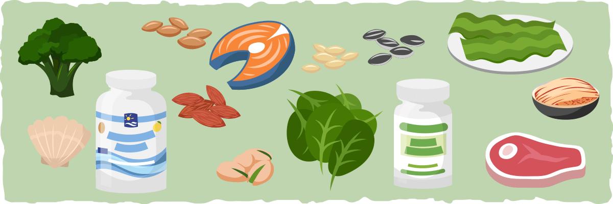 Deficiências de nutrientes a serem observadas na dieta cetogênica vegetariana
