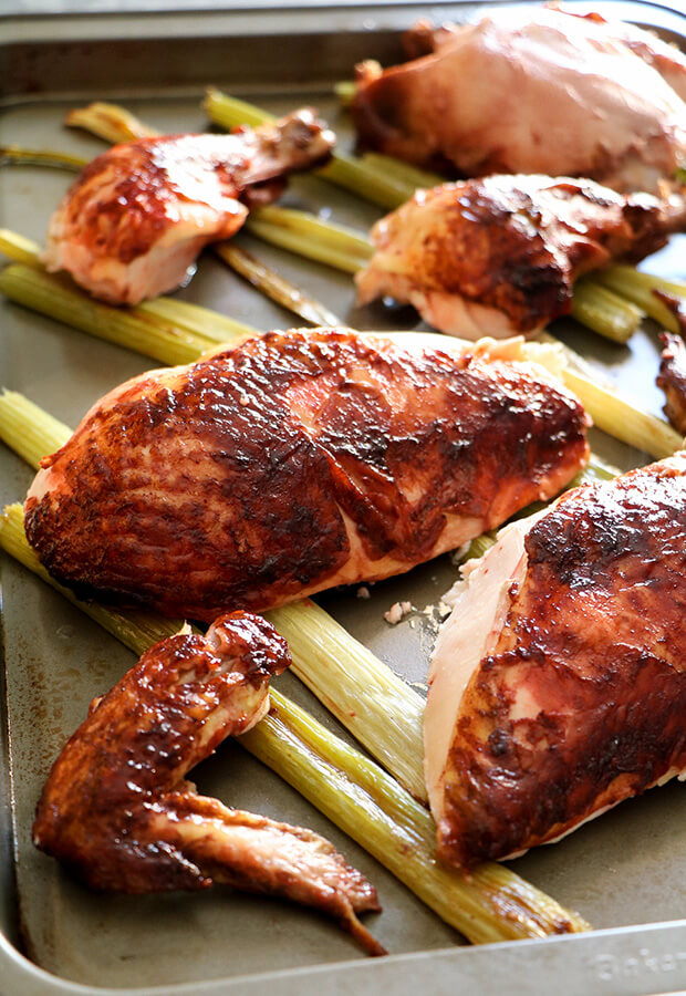 Five Spice Glazed Chicken