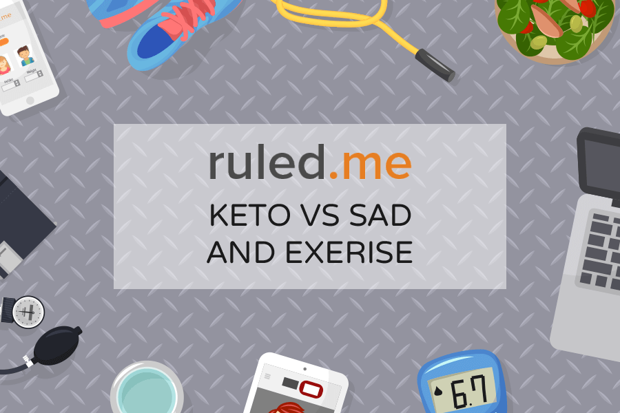 Ketogenic Diet vs. SAD and Exercise