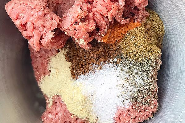 Keto Beef Shawarma Bowl