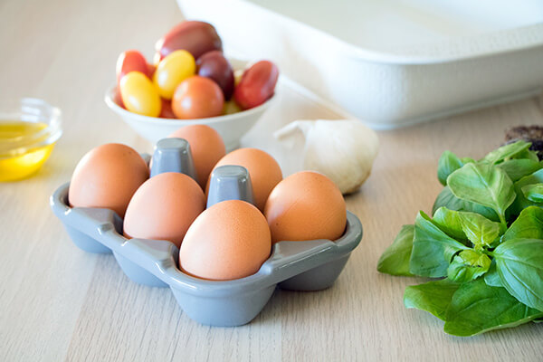 Caprese Egg Casserole