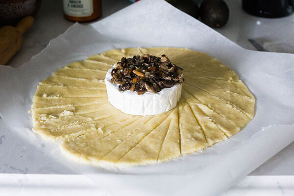 Baked Brie with a Keto Crust