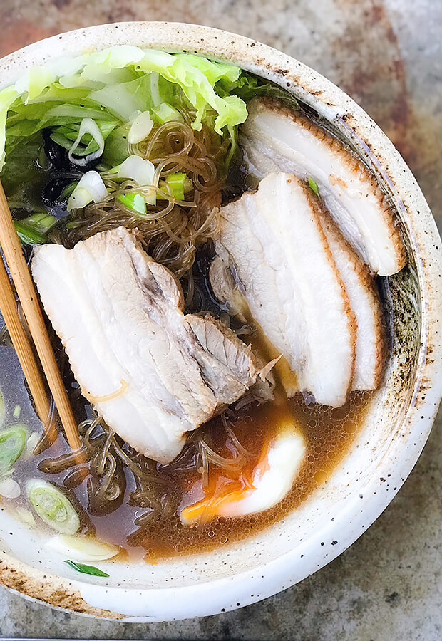 Braised Pork Belly Noodles