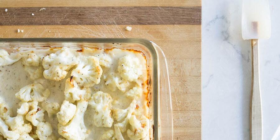 Garlic Parmesan Cauliflower Wings