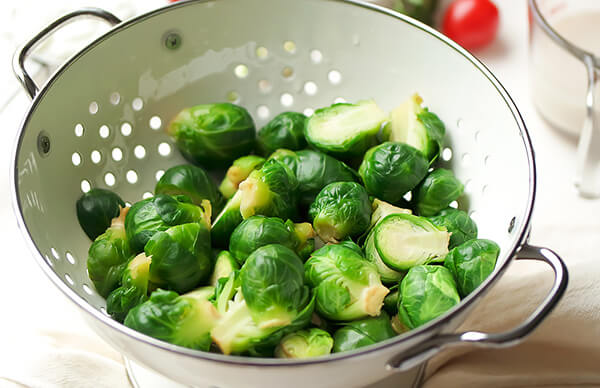 One-Pan Pepper Jack Brussels Sprouts