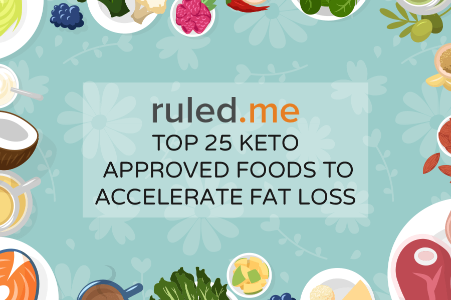 Top 25 Keto Approved Foods to Accelerate Fat Loss | Ruled Me