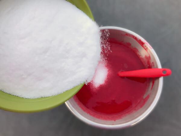 Keto Raspberry Ice Cream