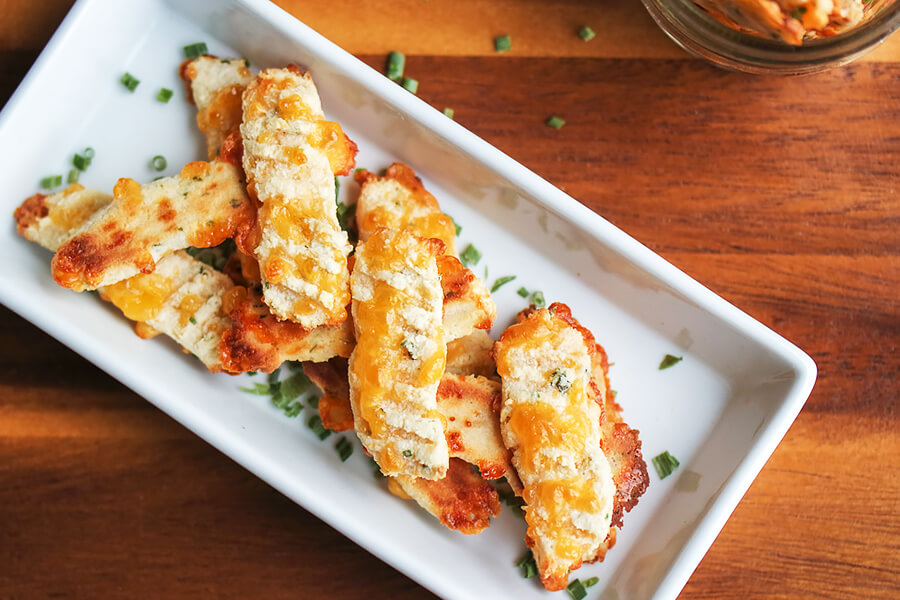 Garlic and Herb Breadstick Bites