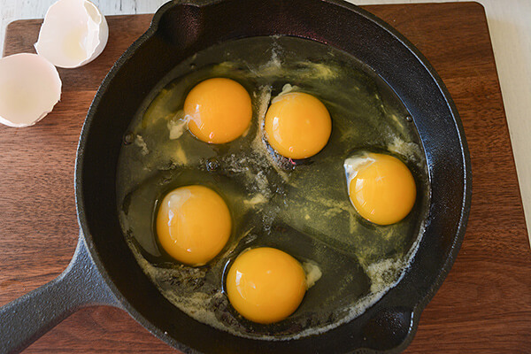 Chorizo Baked Eggs